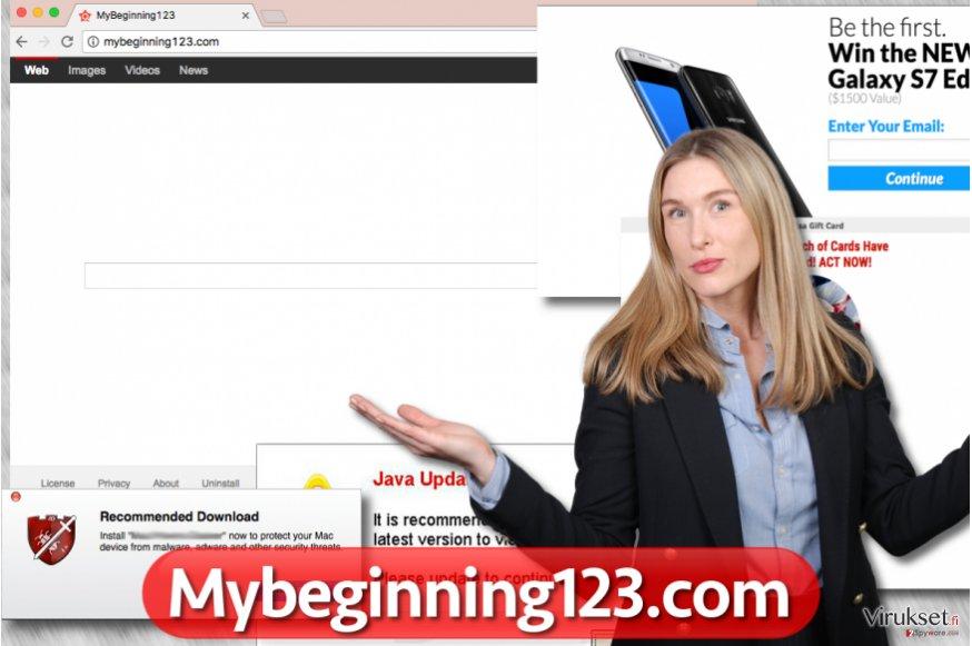 Mybeginning123.com selaimen kaappaaja