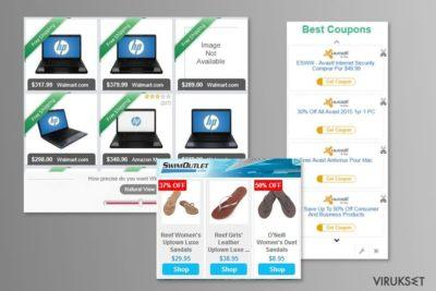 MyCouponize mainosten esimerkki