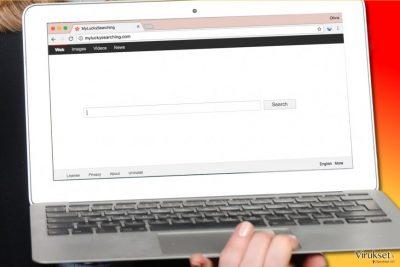 MyLuckySearching.com virus tietokoneella