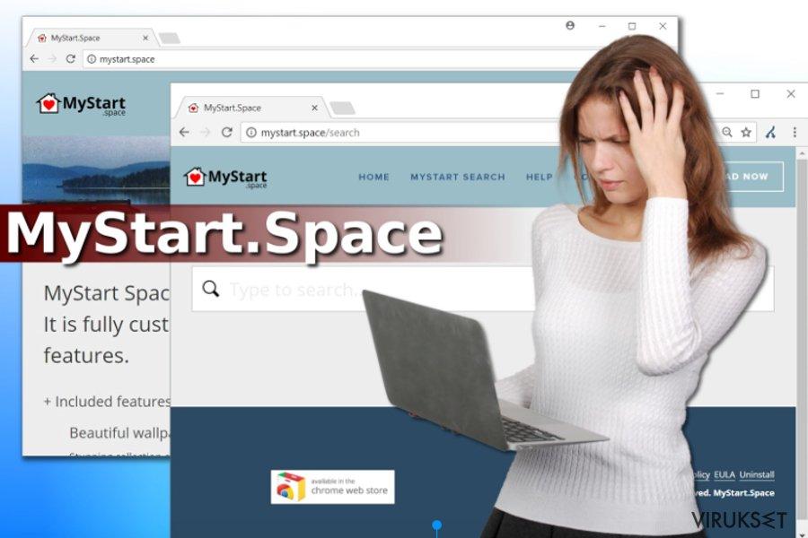 MyStart.Space virus
