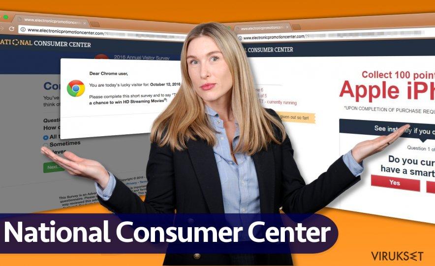 National Consumer Center mainokset
