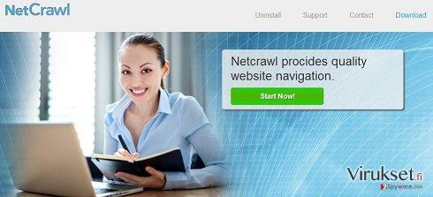 NetCrawl Mainokset kuvankaappaus