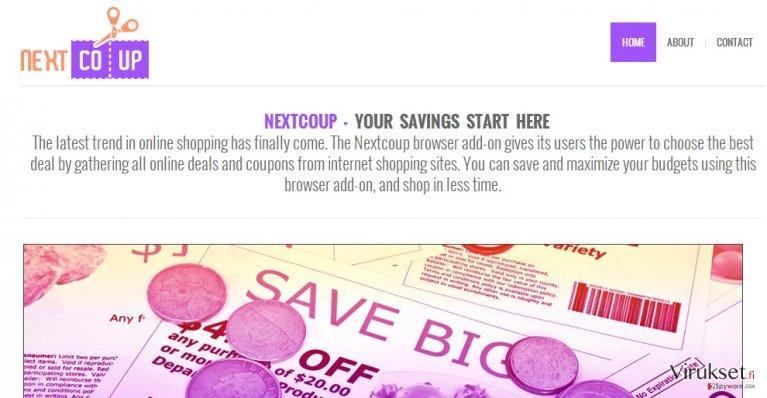 NextCoup mainokset kuvankaappaus