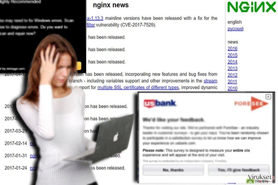 Esimerkki yhteistyökumppani sivusta -- nginx.org