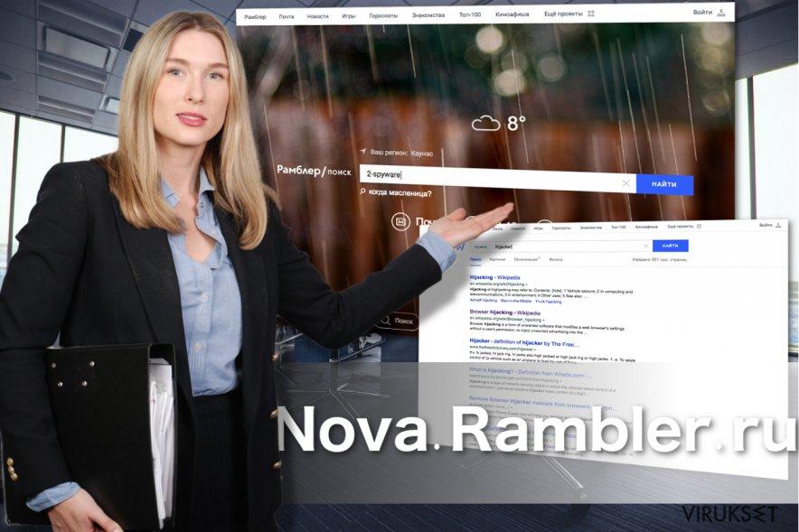 Nova.Rambler ulkonäkö