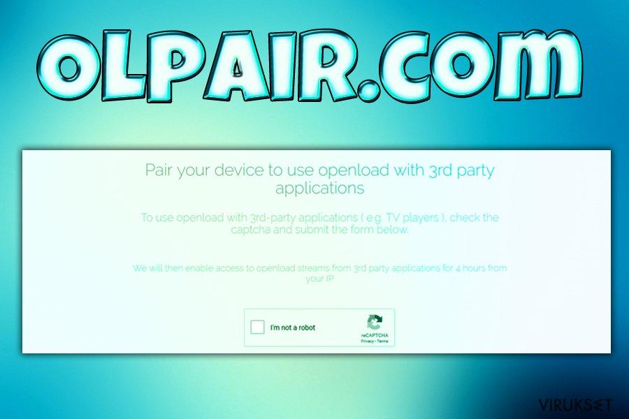 Olpair.com virus