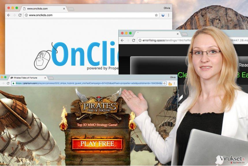 Onclkds.com mainokset