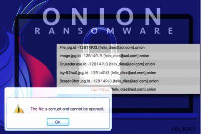 .onion file extension virus