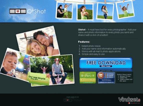 OtShot kuvankaappaus