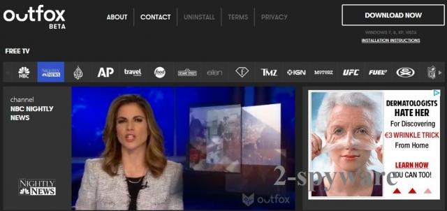 Outfox TV kuvankaappaus