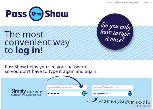 PassShow mainokset kuvankaappaus