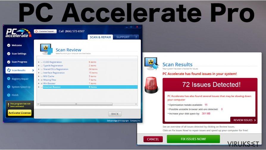 PC Accelerate Pro kuvankaappaus