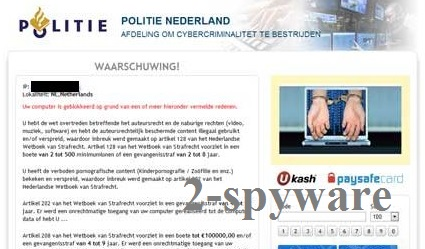 Politie Nederland virus kuvankaappaus
