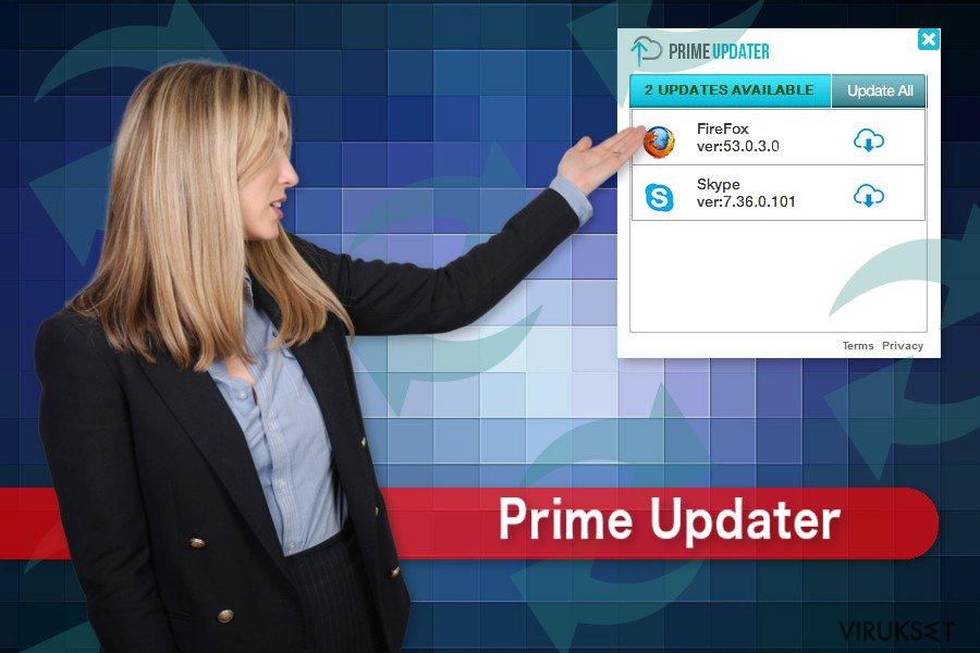 Prime Updater kuvaus