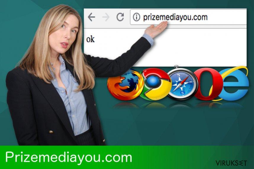 Prizemediayou.com uudelleenohjaus