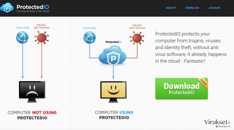 Search.protectedio.com kuvankaappaus