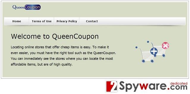 QueenCoupon mainosohjelma kuvankaappaus