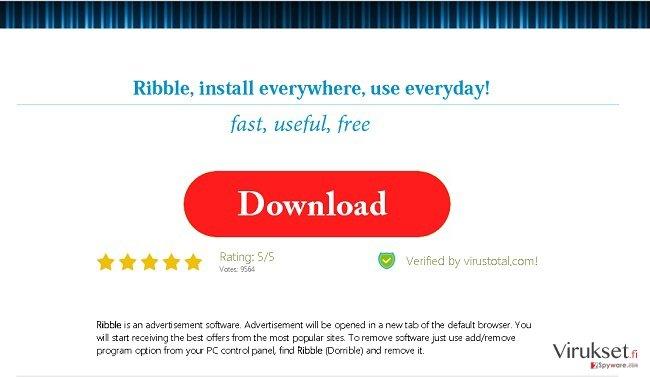 Ribble Mainokset kuvankaappaus