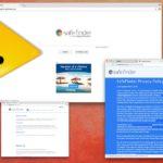 Safe Finder virus kuvankaappaus