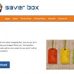 Saver Box mainokset kuvankaappaus