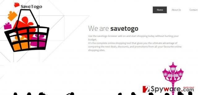 SaveTogo Mainokset kuvankaappaus