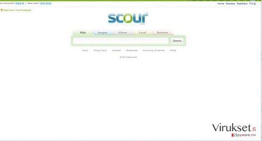 Scour Virus kuvankaappaus