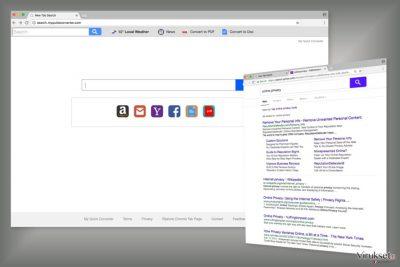 Search.myquickconverter.com hakukoneen esimerkki
