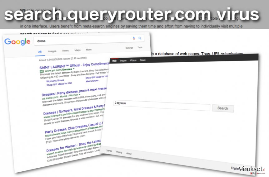 Search.queryrouter.com selaimen kaappaajan kuva