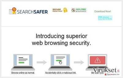 Search Safer virus kuvankaappaus