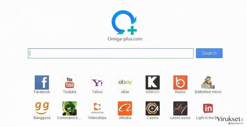 Searches.omiga-plus.com virus kuvankaappaus
