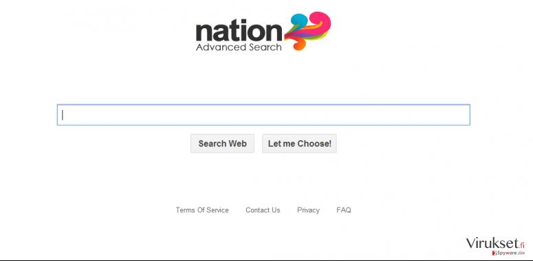 Searchsafer.com uudelleenohjaus virus kuvankaappaus
