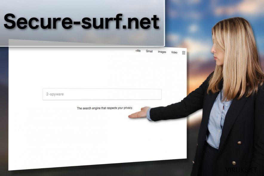 Secure-surf.net viruksen kuva