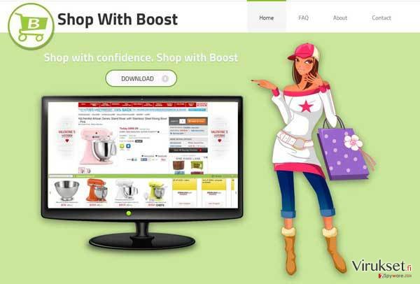 Shop with Boost virus kuvankaappaus