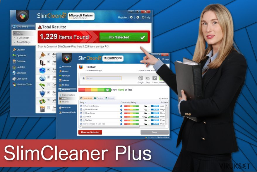 SlimCleaner Plus kuvitus