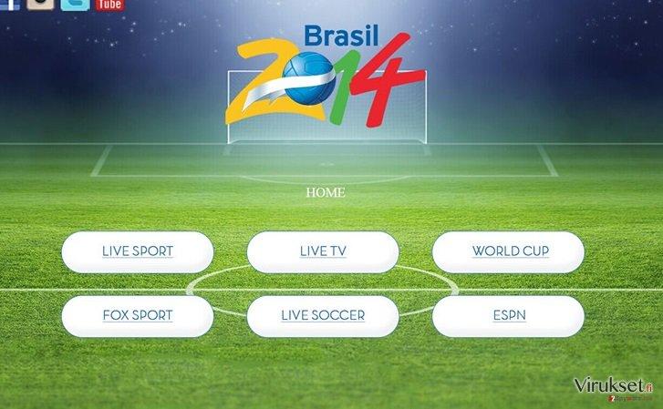 Sporttvstream.info kuvankaappaus