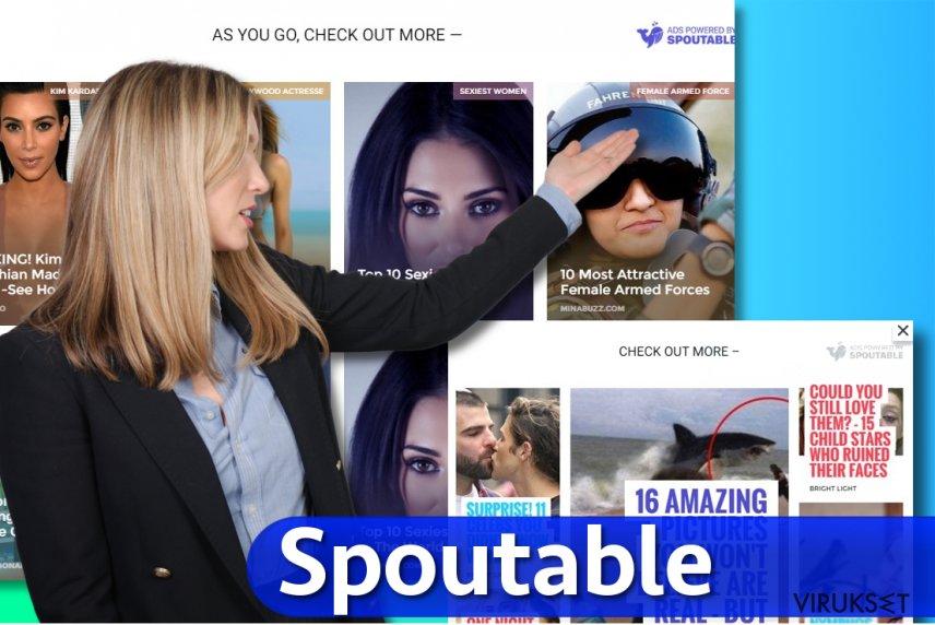 Spoutable mainokset