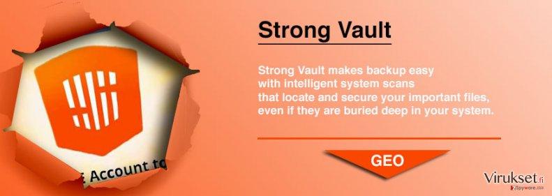 StrongVault Online Backup kuvankaappaus