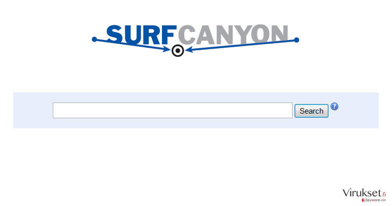 Surf Canyon kuvankaappaus