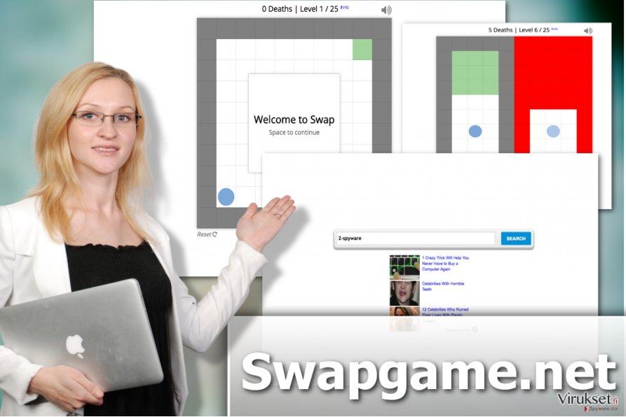 Swapgame.net kaappaaja viruksen kuva