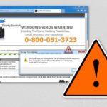 Tech Support Scam virus kuvankaappaus