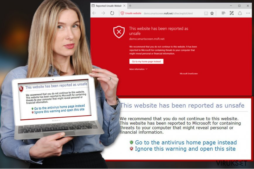 This website has been reported as unsafe virus