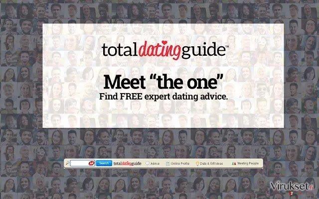 Total Dating Guide Työkalupalkki kuvankaappaus