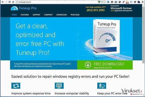 TuneUp Pro kuvankaappaus