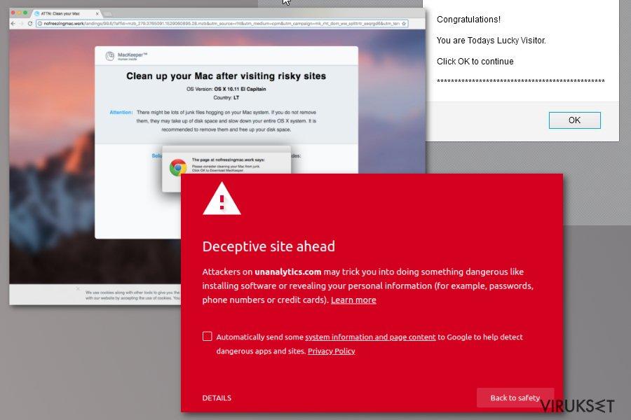 Unanalytics.com virus