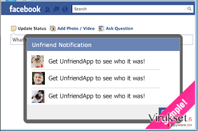 UnfriendTool kuvankaappaus