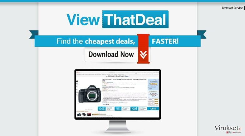 View That Deal mainokset kuvankaappaus