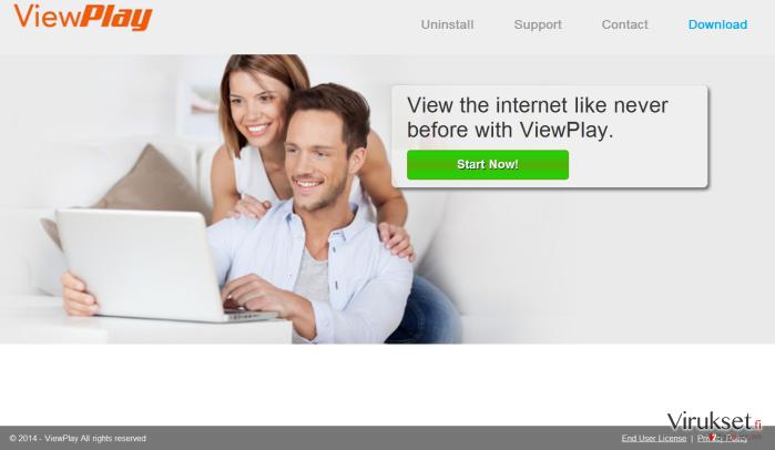 ViewPlay mainokset kuvankaappaus