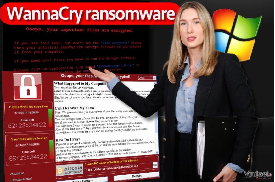 WannaCry lunnasohjelma