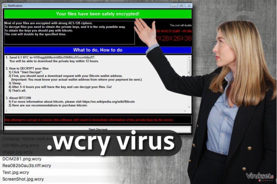 .wcry tiedoston laajennus virus