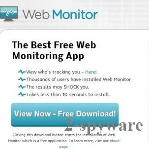 Web Monitor kuvankaappaus